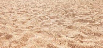 Spiaggia di sabbia Fotografie Stock