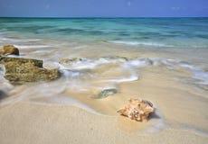 Spiaggia di sabbia Immagini Stock