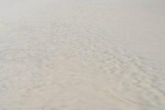Spiaggia di sabbia bianca per fondo e struttura Immagine Stock