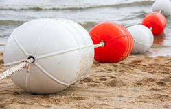 Spiaggia di sabbia di Pattaya Fotografia Stock