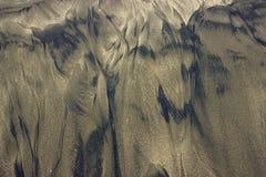 Spiaggia di sabbia naturalmente formata Fotografia Stock Libera da Diritti