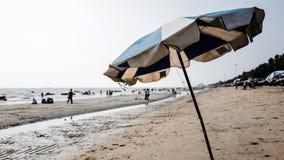 Spiaggia di Saen di colpo, Chonburi, Tailandia Fotografia Stock Libera da Diritti