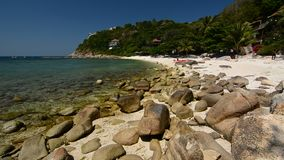 Spiaggia di Sai Daeng KOH Tao thailand archivi video