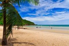 Spiaggia di Saikaew fotografia stock libera da diritti