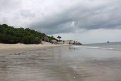 Spiaggia di Sainoi Immagine Stock