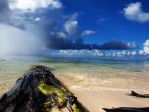Spiaggia di Saipan immagini stock libere da diritti