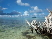 Spiaggia di Saipan immagini stock
