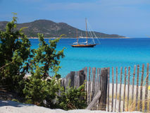 Spiaggia di Saleccia Immagini Stock Libere da Diritti