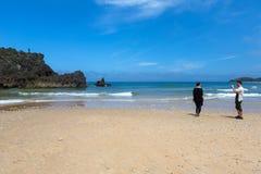 Spiaggia di San Antolin fotografia stock libera da diritti