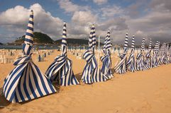 Spiaggia di San Sebastian Immagine Stock Libera da Diritti