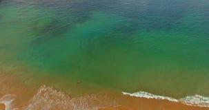 Spiaggia di San Sebastian video d archivio