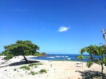 Spiaggia di Sanjuanillo, Guanacaste, Costa Rica fotografia stock libera da diritti