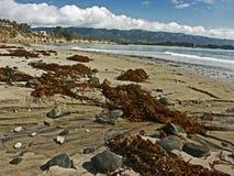 Spiaggia di Santa Barbara Fotografie Stock Libere da Diritti