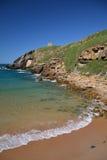 Spiaggia di Santa Justa Fotografia Stock