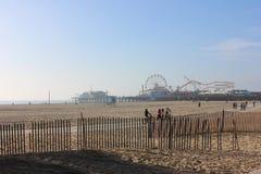 Spiaggia di Santa Monica Fotografia Stock Libera da Diritti