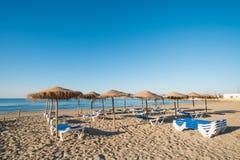 Spiaggia di Santa Pola Fotografia Stock
