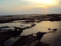 Spiaggia di Santolo Fotografie Stock Libere da Diritti