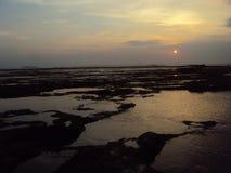 Spiaggia di Santolo Fotografia Stock Libera da Diritti