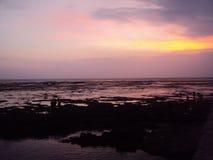 Spiaggia di Santolo Fotografia Stock