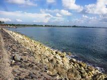 Spiaggia di Sanur Immagine Stock Libera da Diritti