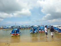 Spiaggia di Sanur Immagine Stock