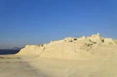 Spiaggia di Sarakiniko Immagine Stock