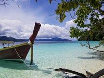 Spiaggia di scoperta Immagine Stock Libera da Diritti