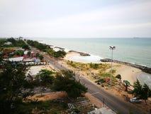 Spiaggia di Seangchan Immagine Stock