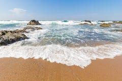 Spiaggia di Seffield Fotografia Stock Libera da Diritti