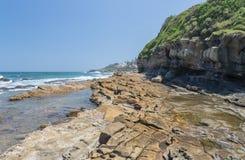 Spiaggia di Seffield Immagini Stock Libere da Diritti
