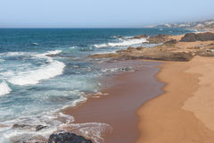 Spiaggia di Seffield Immagine Stock Libera da Diritti