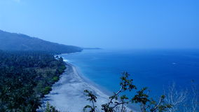 Spiaggia di Senggigi immagini stock libere da diritti
