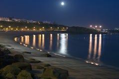 Spiaggia di seni Fotografia Stock