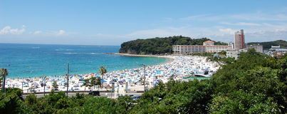 Spiaggia di Shirahama fotografie stock libere da diritti