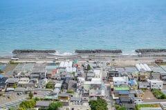 Spiaggia di Shizuoka Fotografie Stock