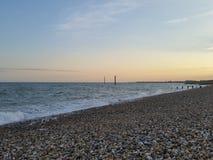 Spiaggia di Shoreham Fotografie Stock