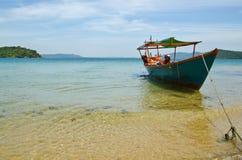 Spiaggia di Sihanouk Ville Fotografia Stock Libera da Diritti