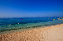 Spiaggia di Simuni - il Croatia Immagine Stock