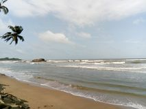Spiaggia di SL immagini stock libere da diritti