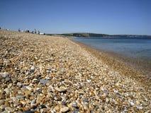 Spiaggia di Slapton, Devon Fotografie Stock Libere da Diritti