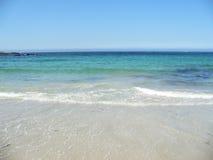 Spiaggia di sogno nordica Fotografia Stock Libera da Diritti