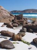 Spiaggia di sogno segreta Fotografie Stock