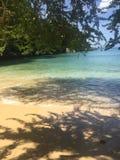 Spiaggia di Sosua, Repubblica dominicana, vacanza Fotografia Stock
