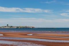 Spiaggia di Souris Fotografia Stock Libera da Diritti