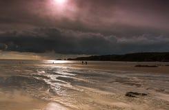 Spiaggia di Southerndown Immagini Stock