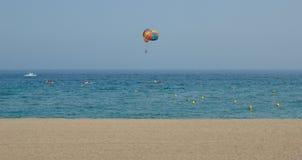 Spiaggia di sport Immagine Stock