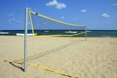 Spiaggia di sport. Fotografie Stock