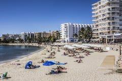 Spiaggia di Sta Eularia Immagini Stock Libere da Diritti