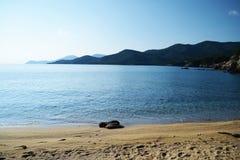 Spiaggia di Stagira immagine stock