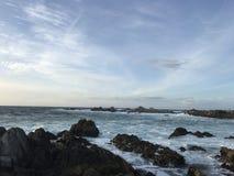 Spiaggia di stato di Asilomar Fotografie Stock Libere da Diritti